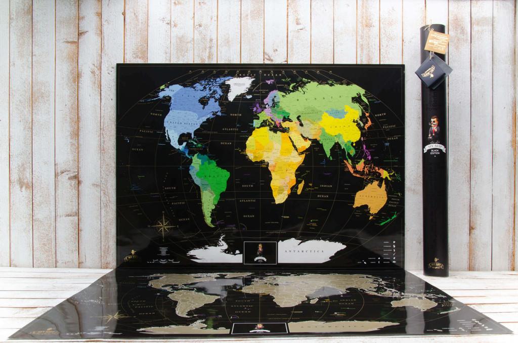 скретч карта мира black уже в продаже