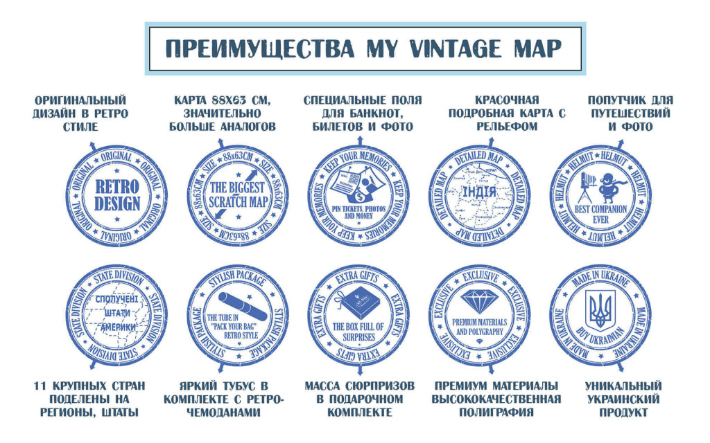 My Map Vintage edition