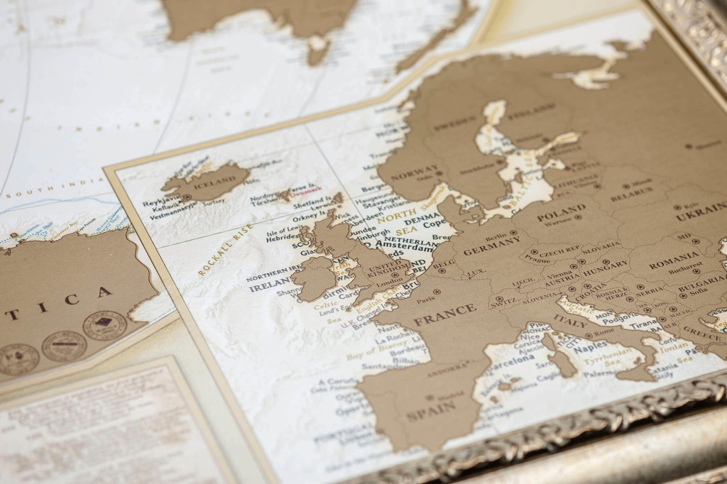 My Map Antique edition gold