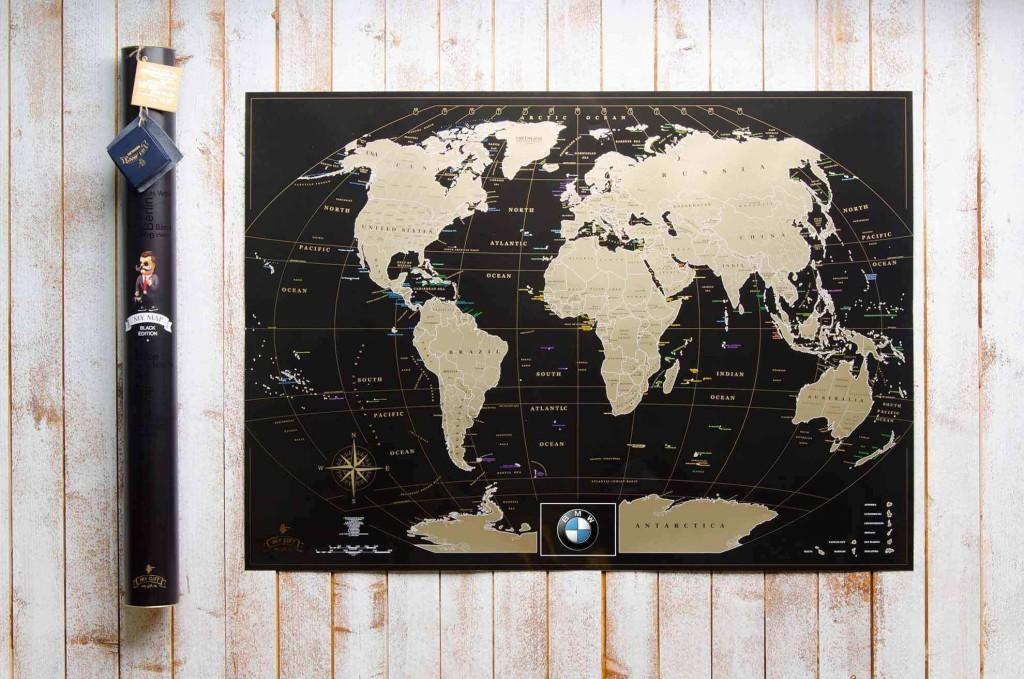 My Map Black edition ENG в тубусе