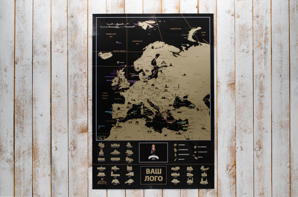 My Map Europe edition ENG