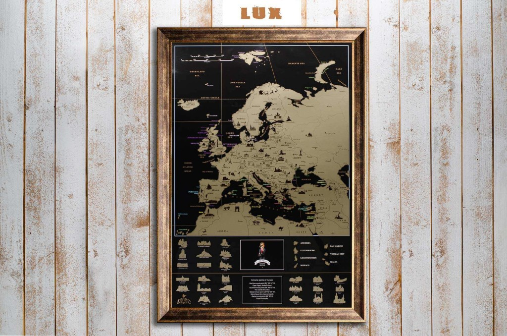 My Map Europe edition ENG в раме