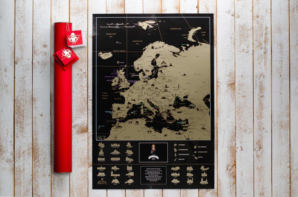 My Map Europe edition ENG в наборе InLove